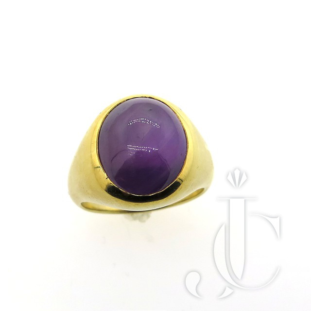 COLOR CHANGE STAR SAPPHIRE RING