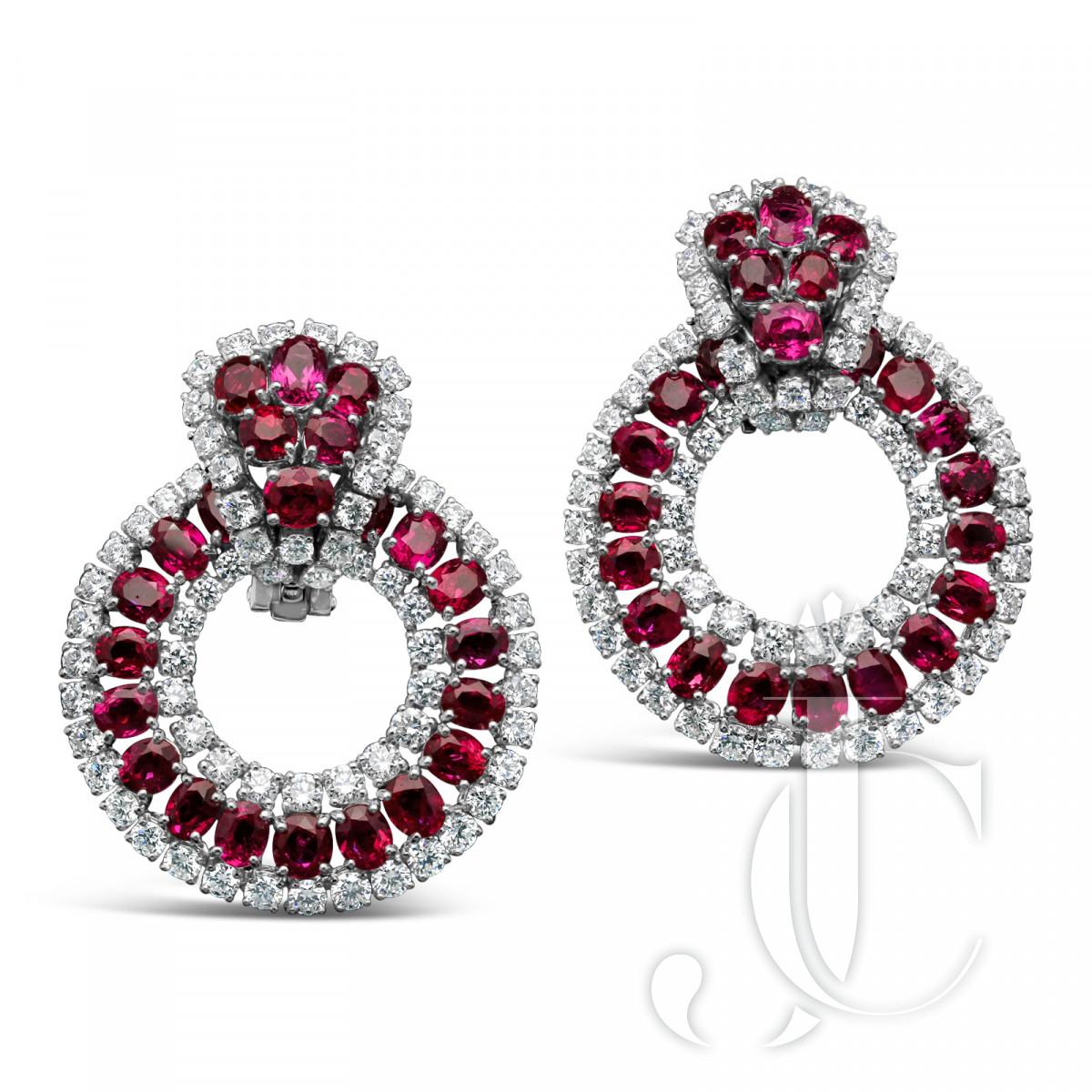 Bulgari -Ruby & diamond
