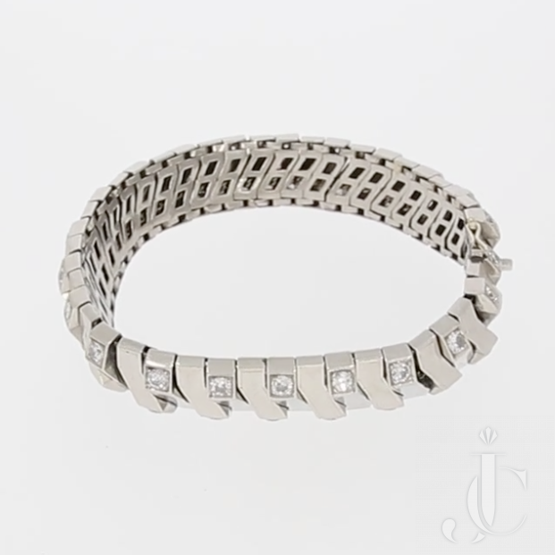 Rene Boivin Art Deco Diamond Bracelet