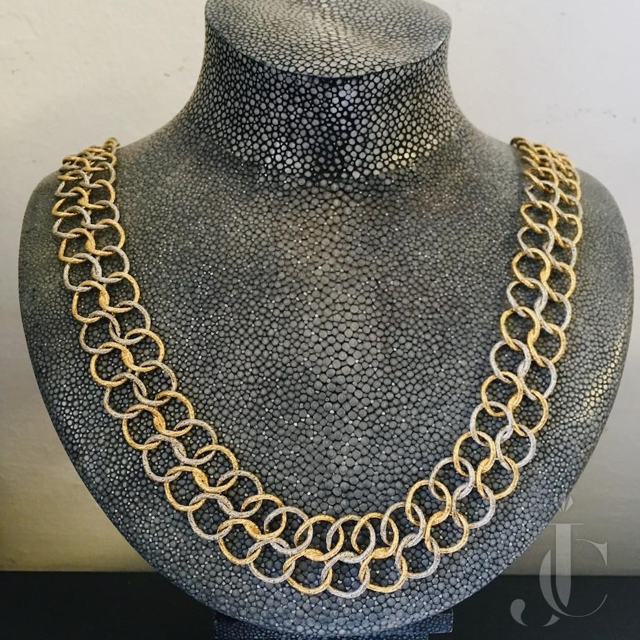 Bicolor Necklace