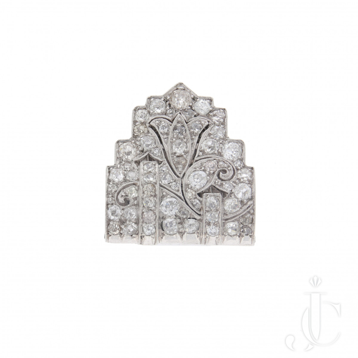 Diamond Dress Clip