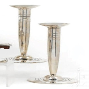 Silver candleholder by TIFFANY & Co