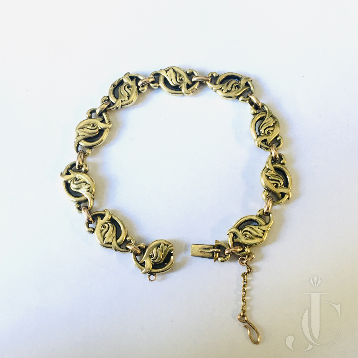 Faberge Gold Bracelet