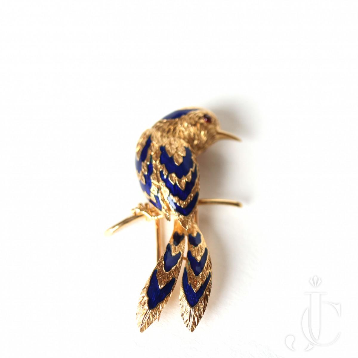 CARTIER BIRD CLIP