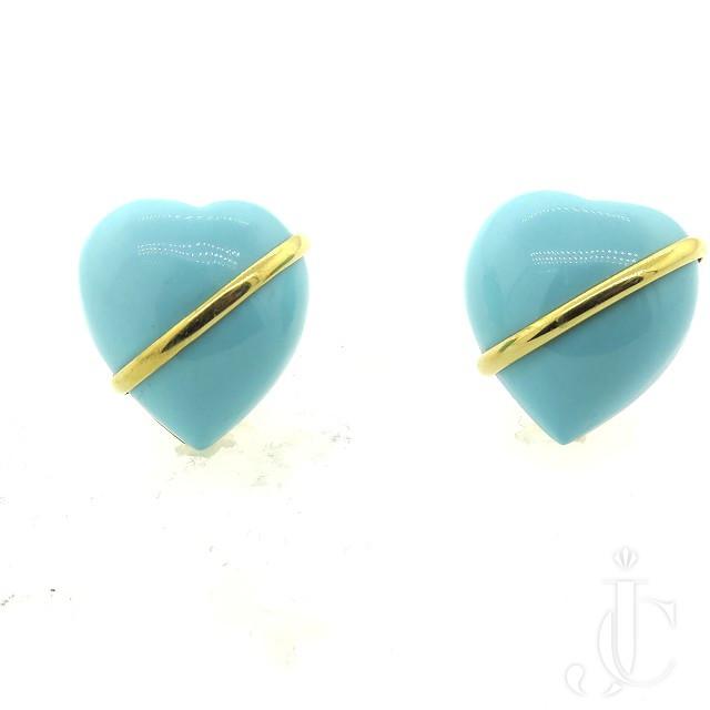 Seamen Schepps Turquoise Earrings