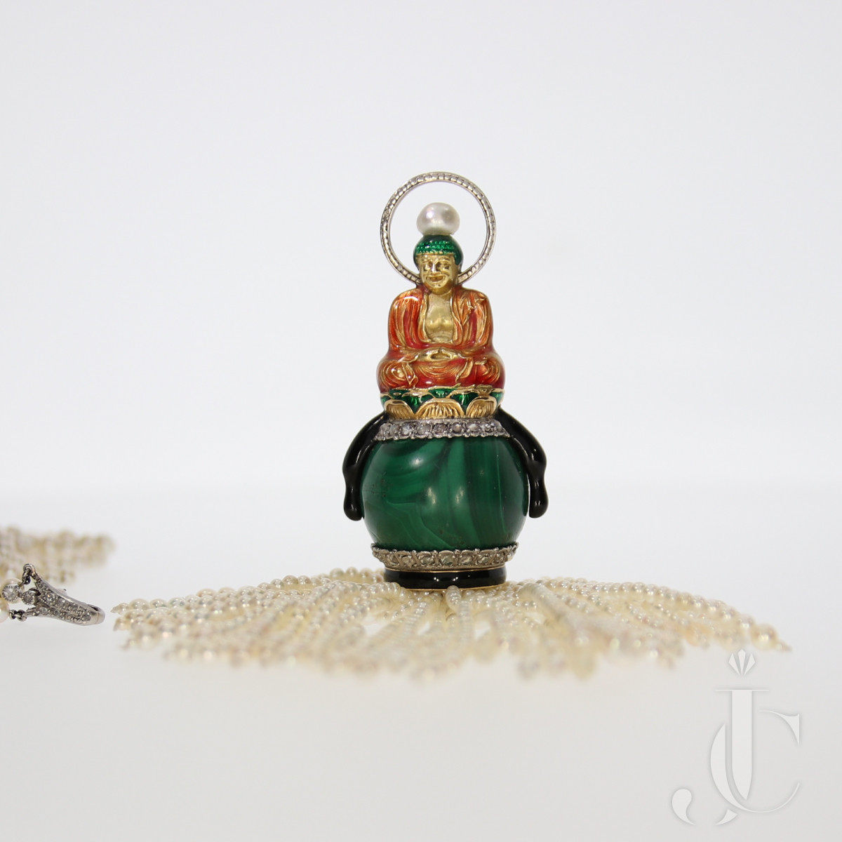 Art Deco SAS Buddha Pendant
