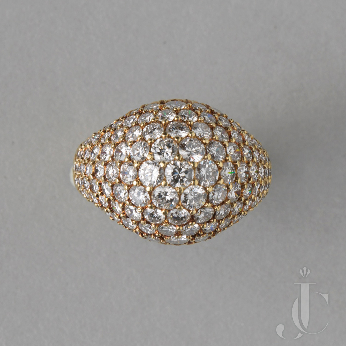 GOLD AND DIAMOND RING BY KURT WAYNE FOR CARTIER