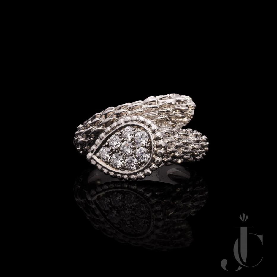 Boucheron Serpent Bohème Diamond Ring