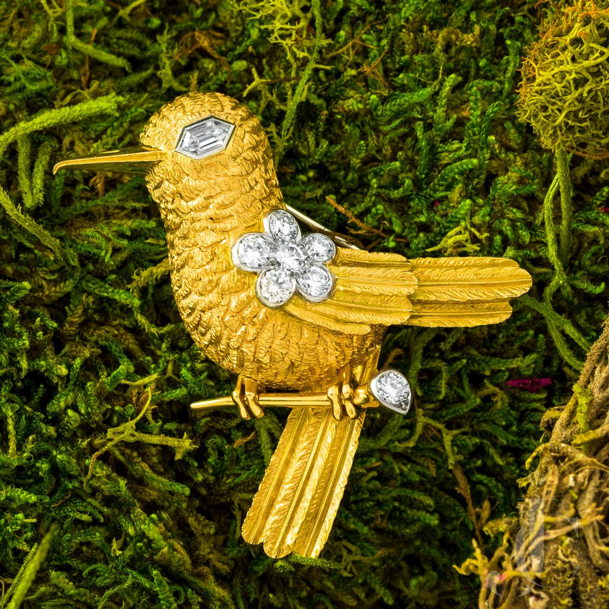 Cartier Diamond Bird Brooch, London