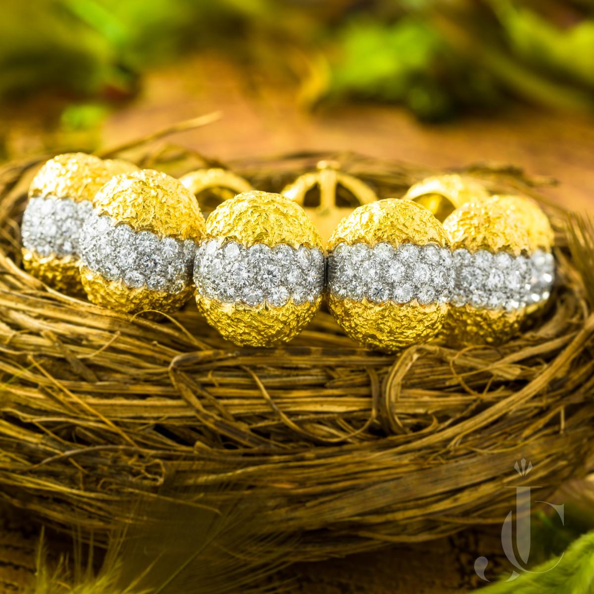 Cartier Diamond Bracelet, French