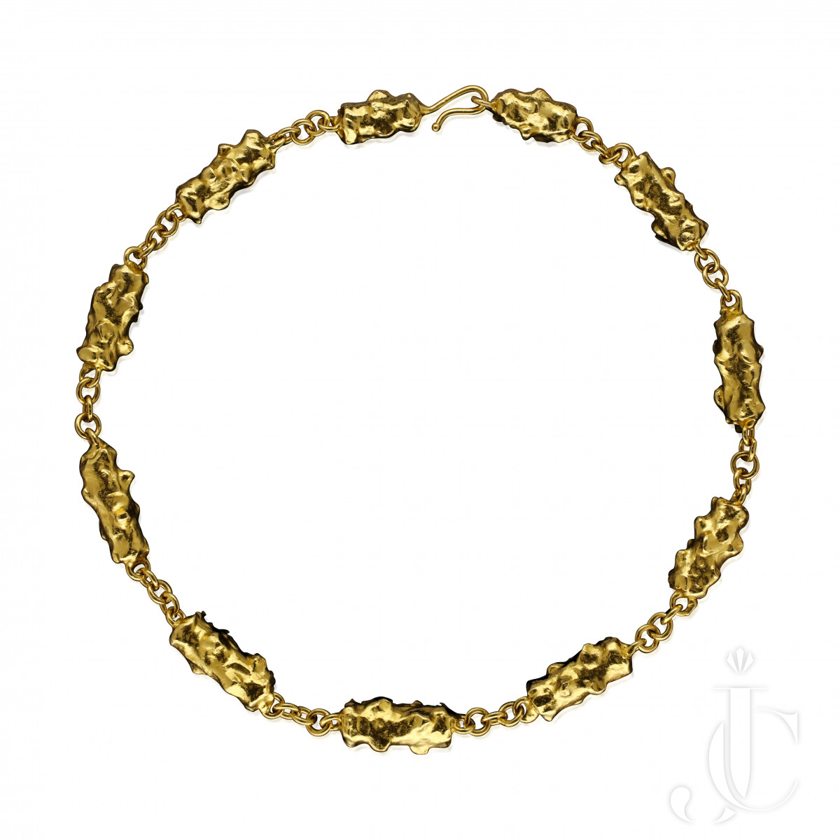 Jean Mahie - 22ct Gold Nugets necklace c.1970s