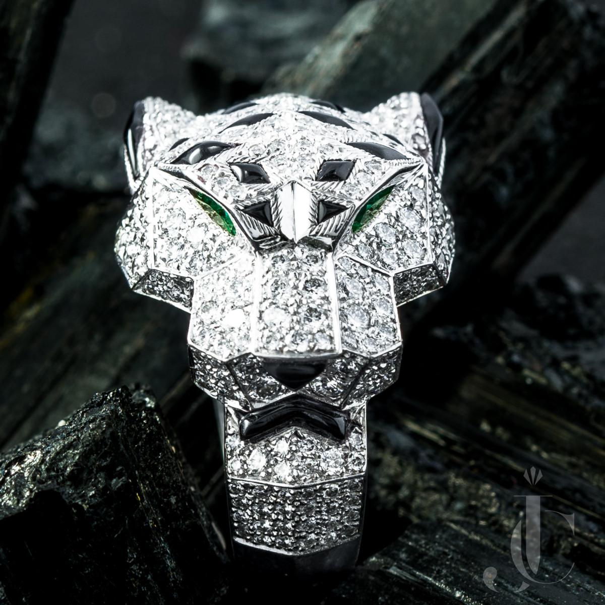 Cartier Panthère Diamond Ring