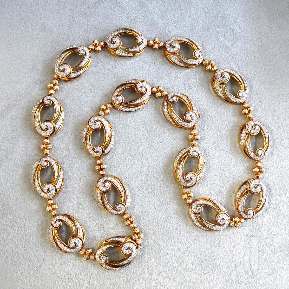 VCA Necklace/Bracelet/Ear clips