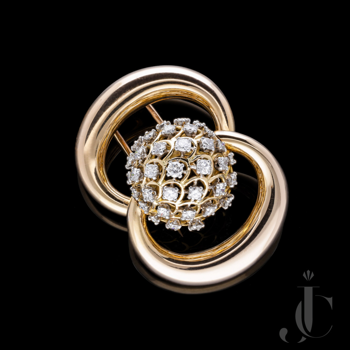 French, Changeable Diamond Clip
