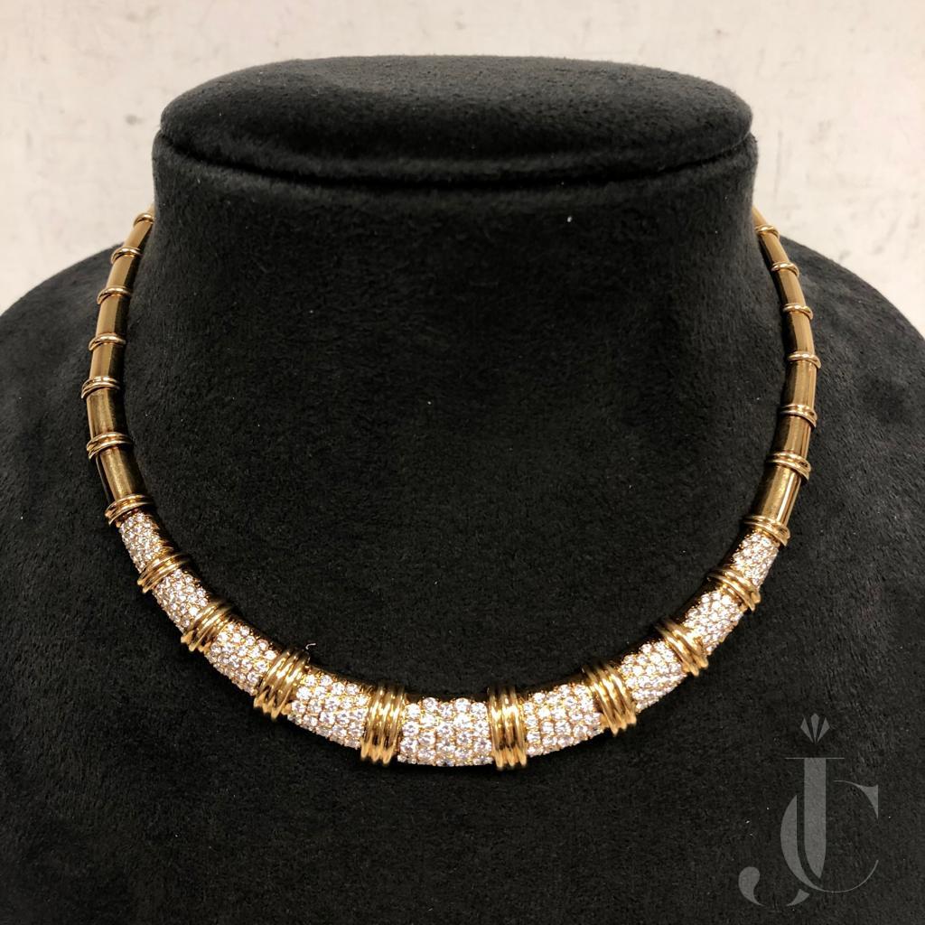 18kt Yellow Gold Diamonds Necklace, Van Cleef  & Arpels -  Paris