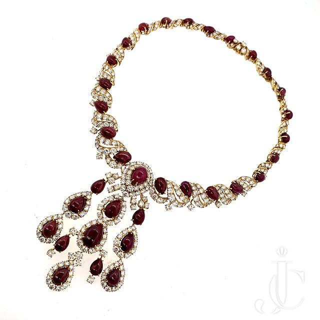 Gerard Ruby Diamond Necklace
