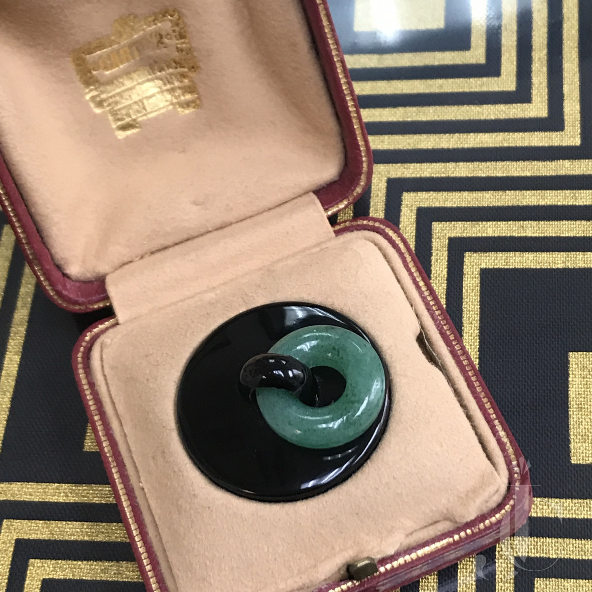 Cartier Paris Art Deco pill box