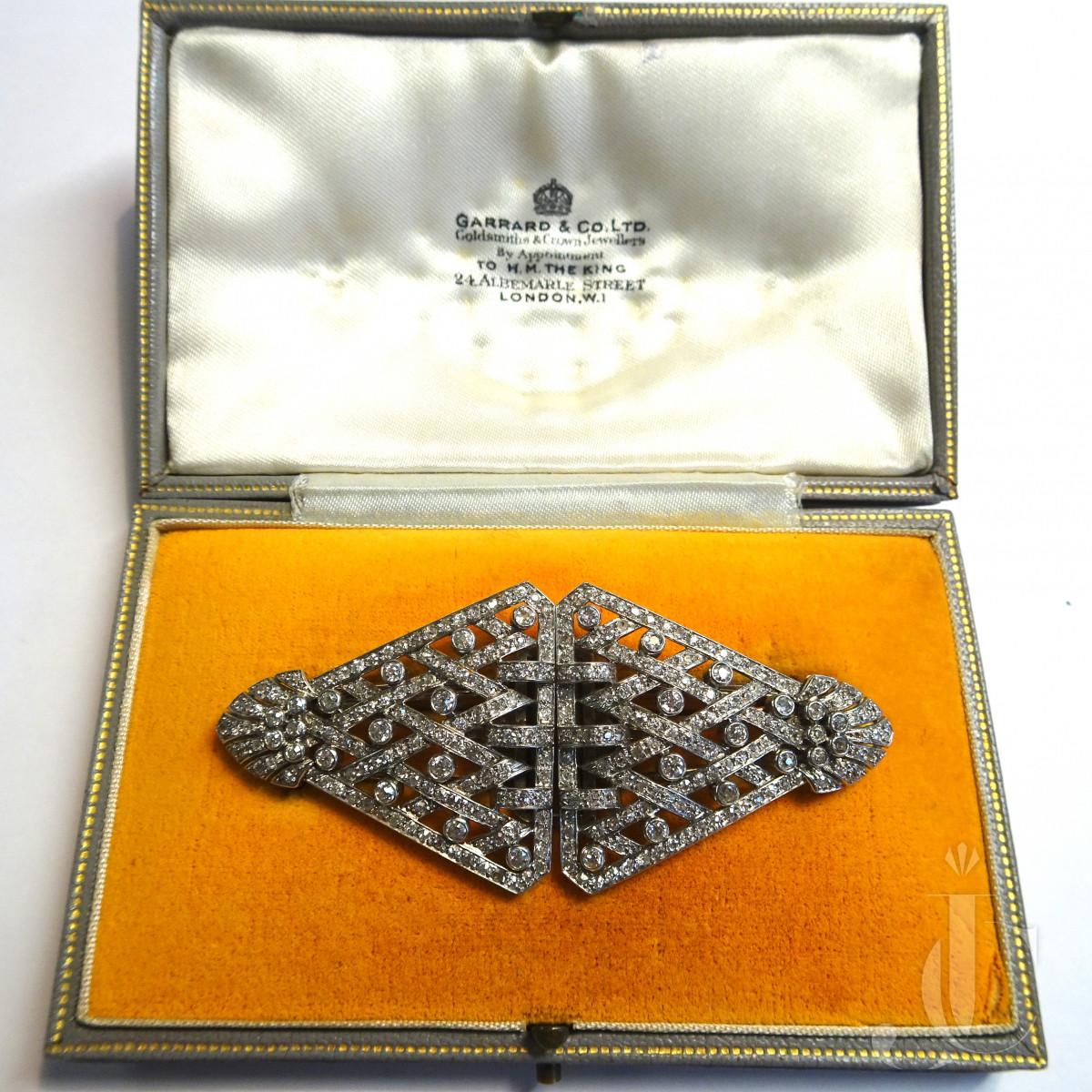 Diamond Platinum Double CLip