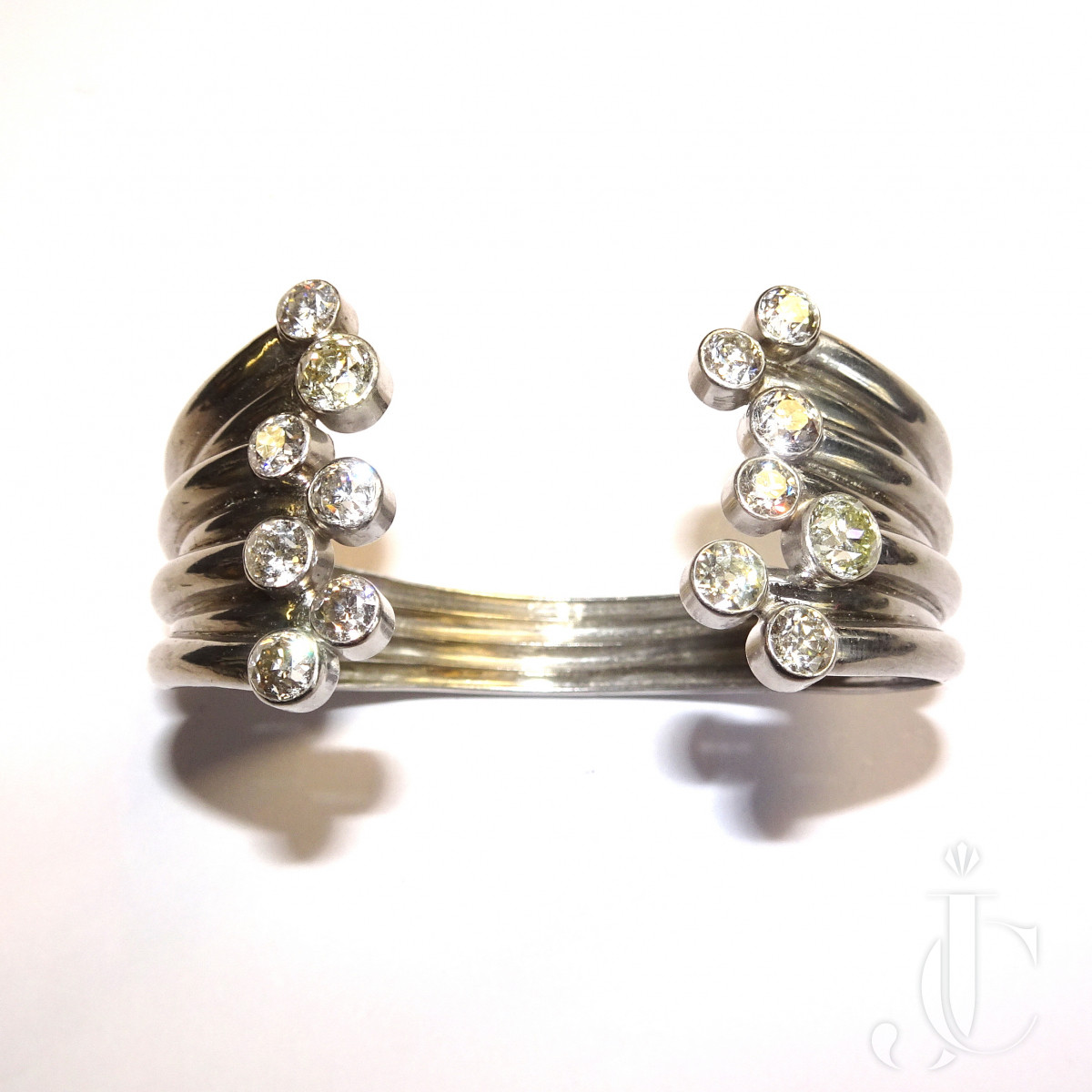 Belperron Diamond Bangle