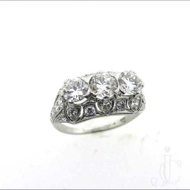 Art Deco  Diamond Ring