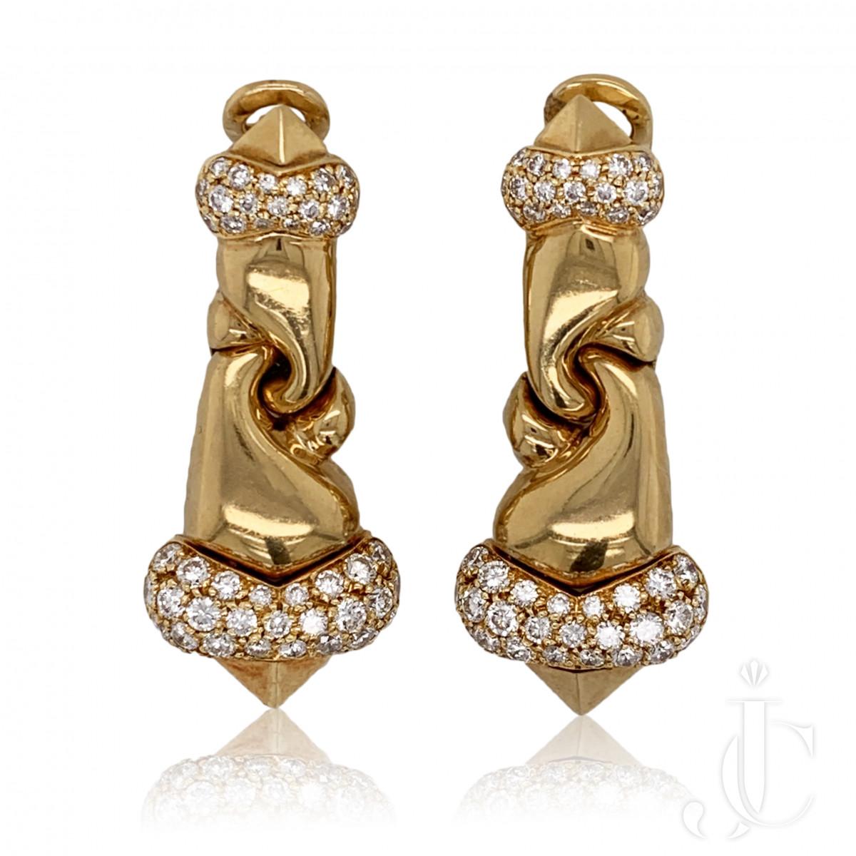 Bulgari yg Dia Earrings