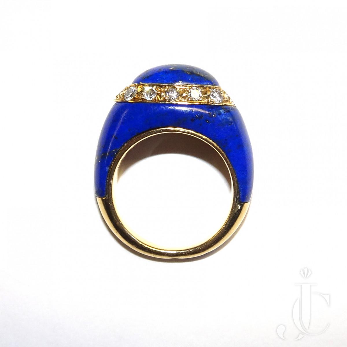 VCA Lapis Ring