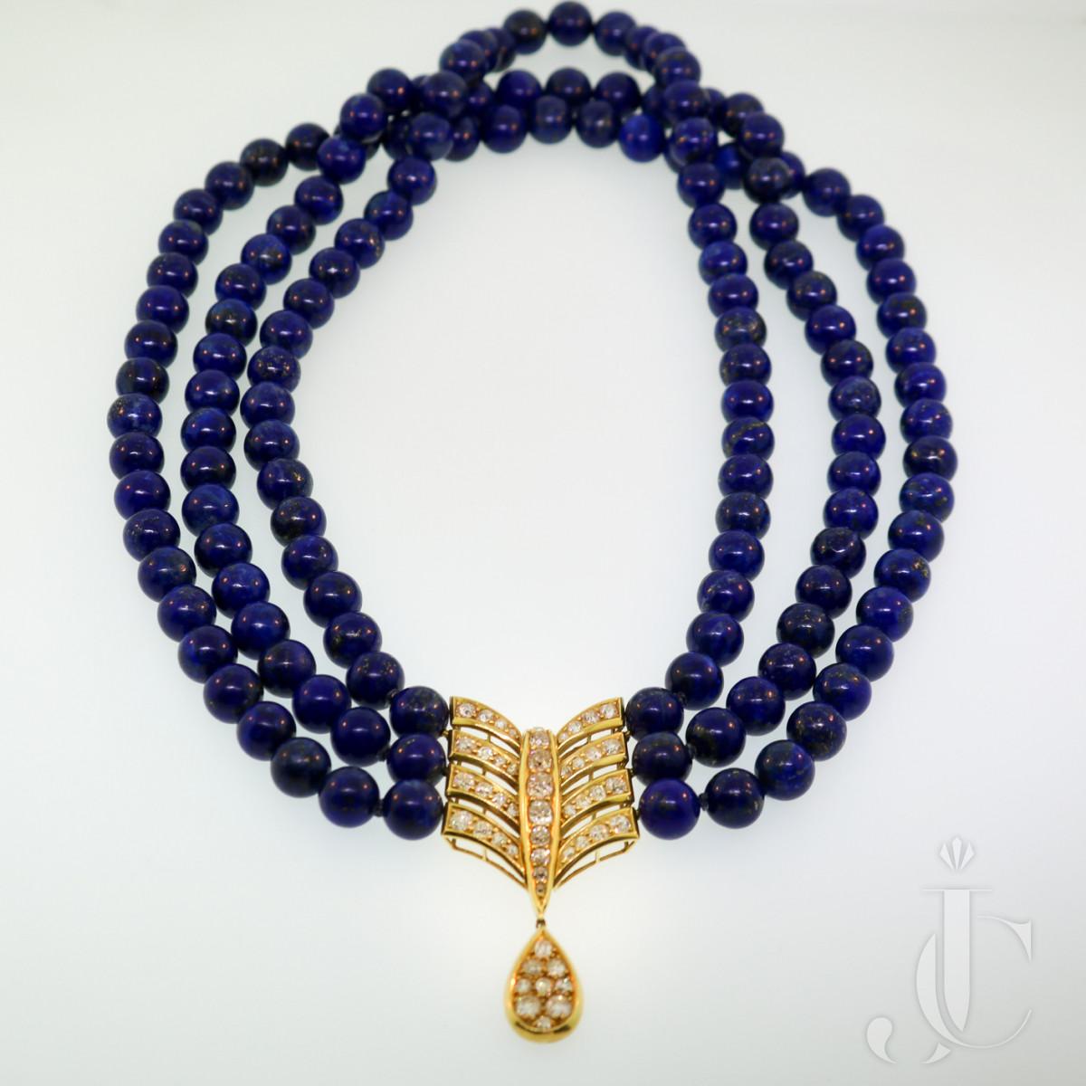 Cartier, Lapis Lazuli Necklace