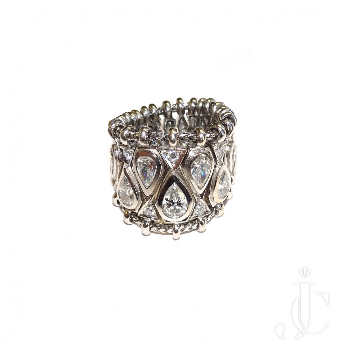 Rene Boivin Diamond Ring, flexible