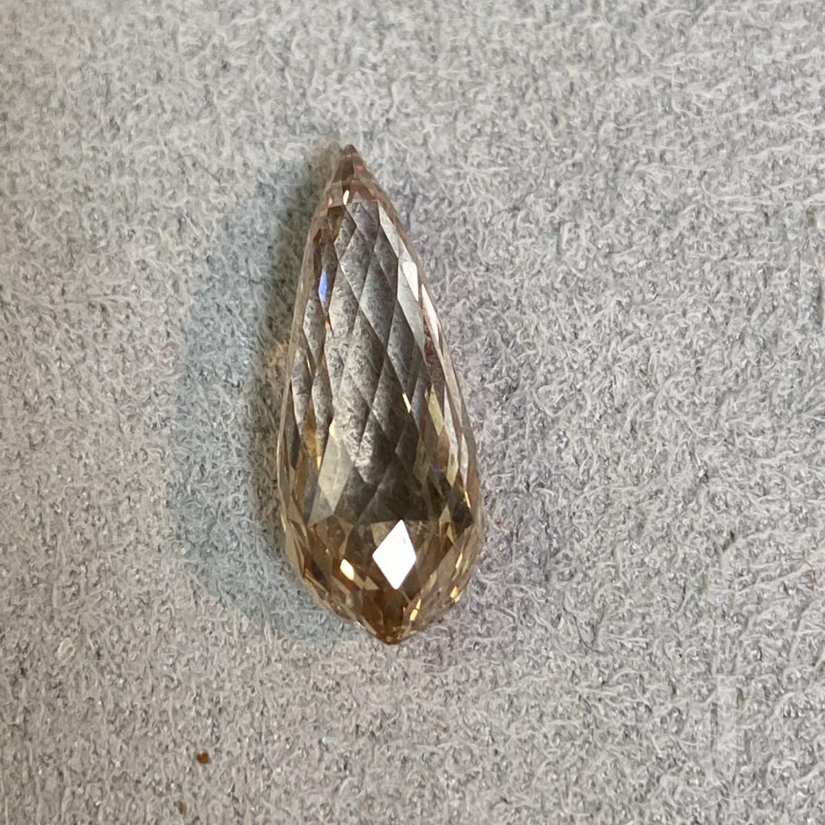 8,63 ct Diamond Briolette