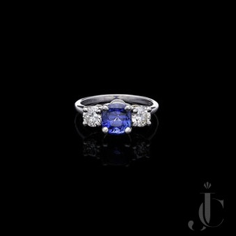 Colour Change Sapphire Ring, by Shreve Crump and Low