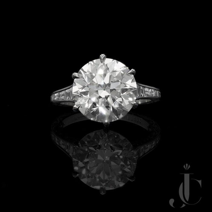 5.07ct G SI1 Old European cut Diamond