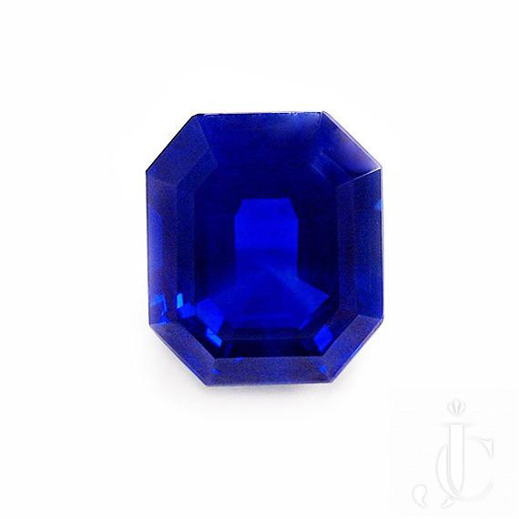 Kashmir Emerald Cut Sapphire 9.33 cts  - No treatment