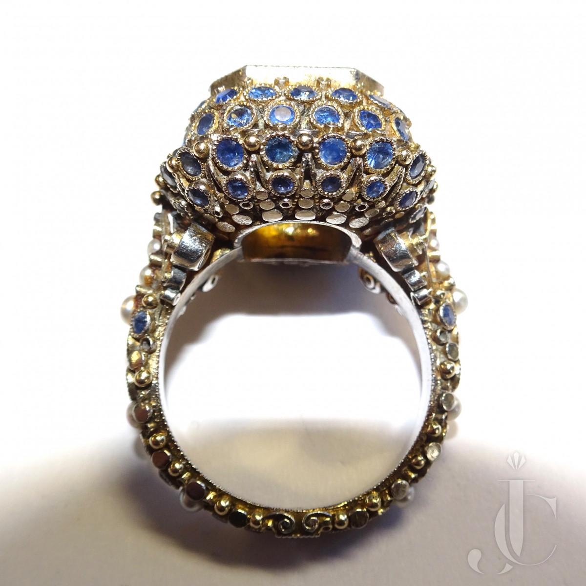Elmar Seidler Topaz Ring