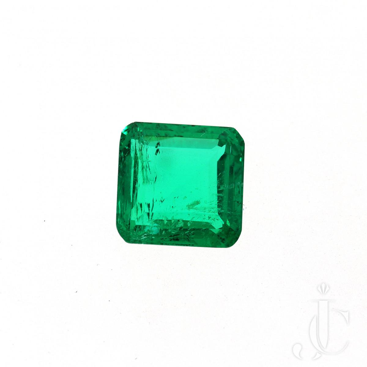 2,86 ct Columbian Emc Emerald