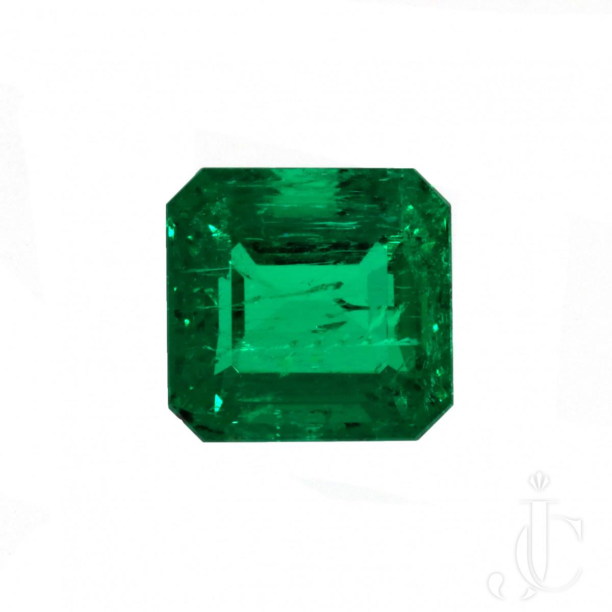 2,07 ct Columbian Emerald Cut
