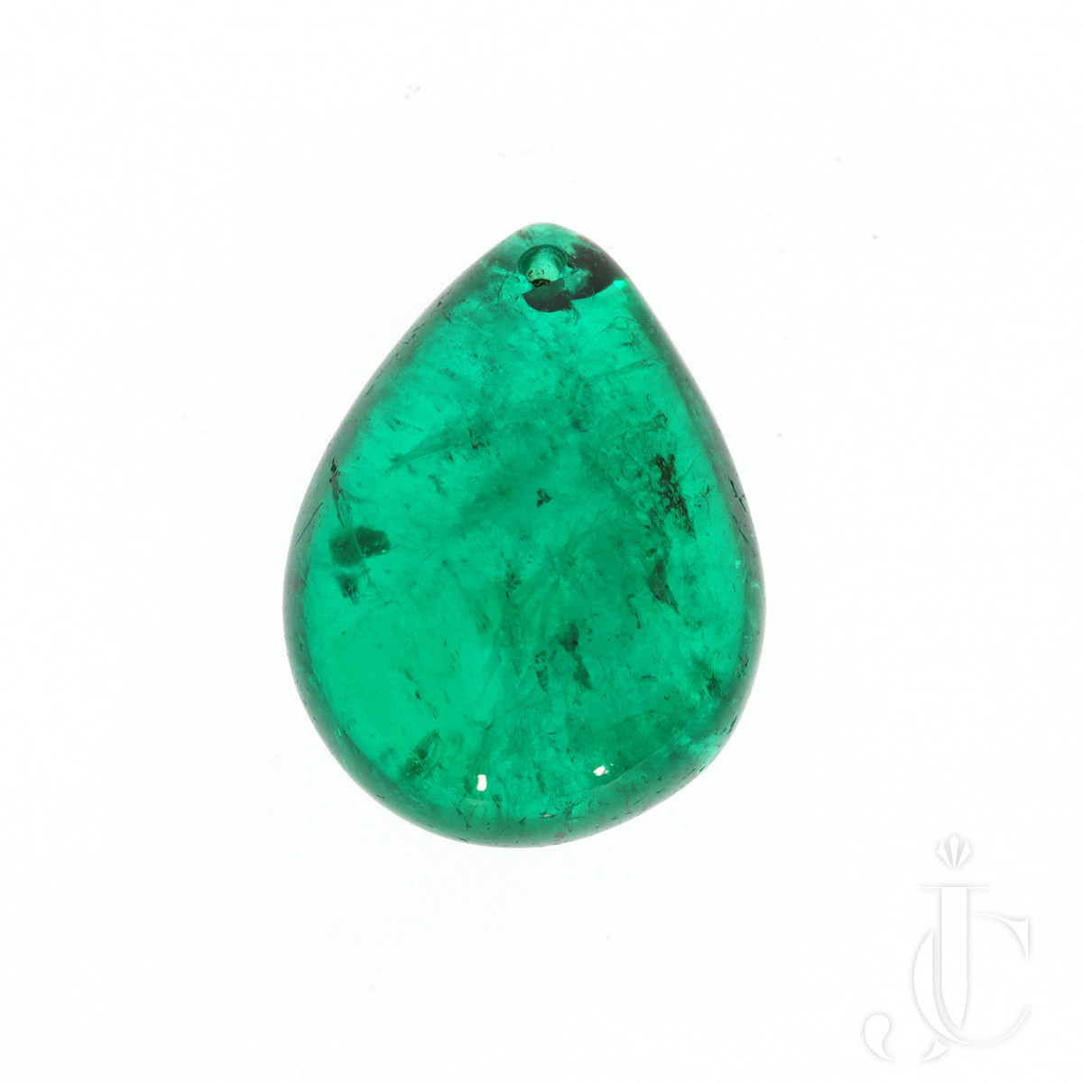 14.16 ct Columbian Emerald Drop