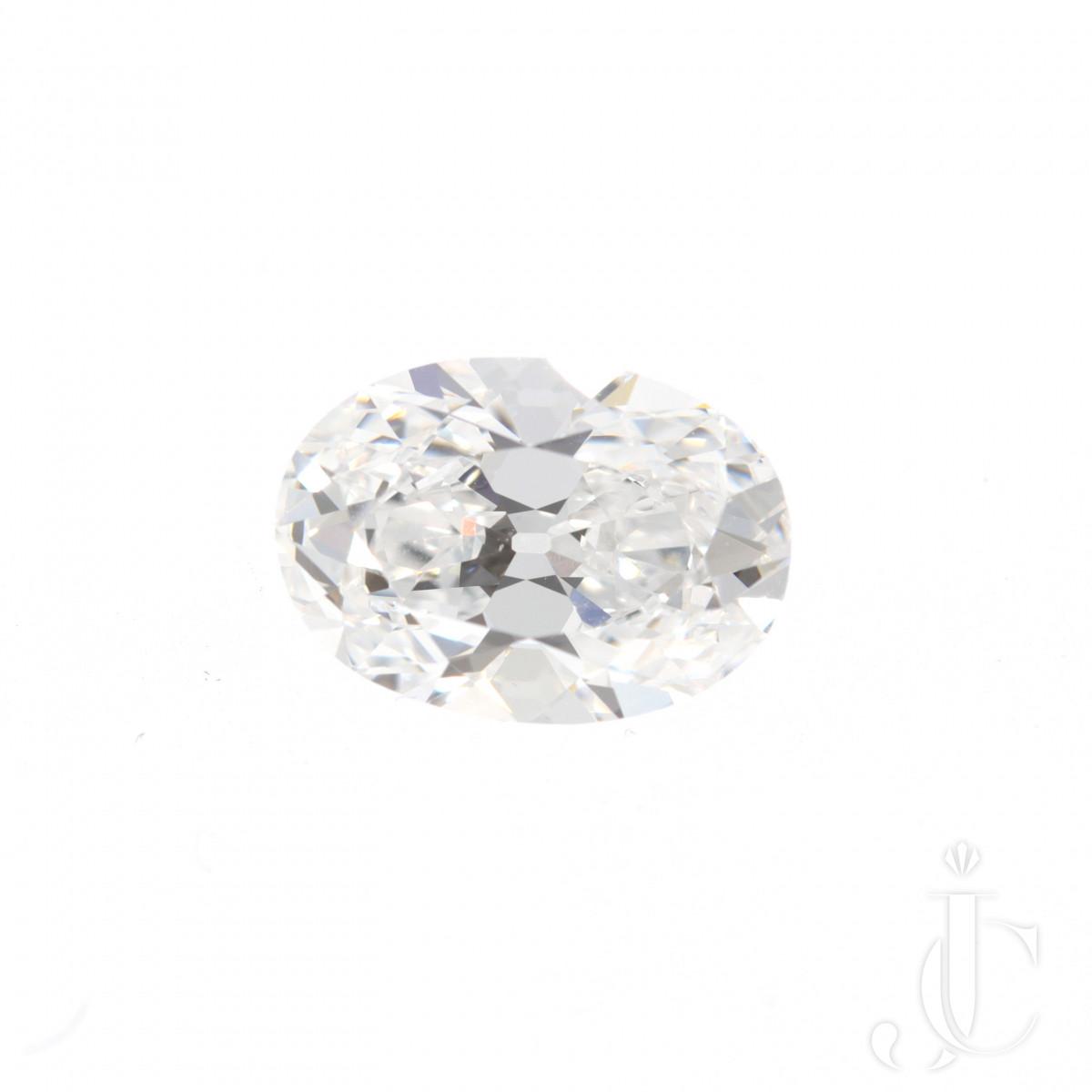 4,17 ct oval Diamond D-IF Golconda