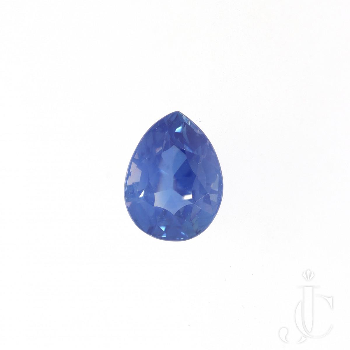 2,60 ct Kashmir Pear shape