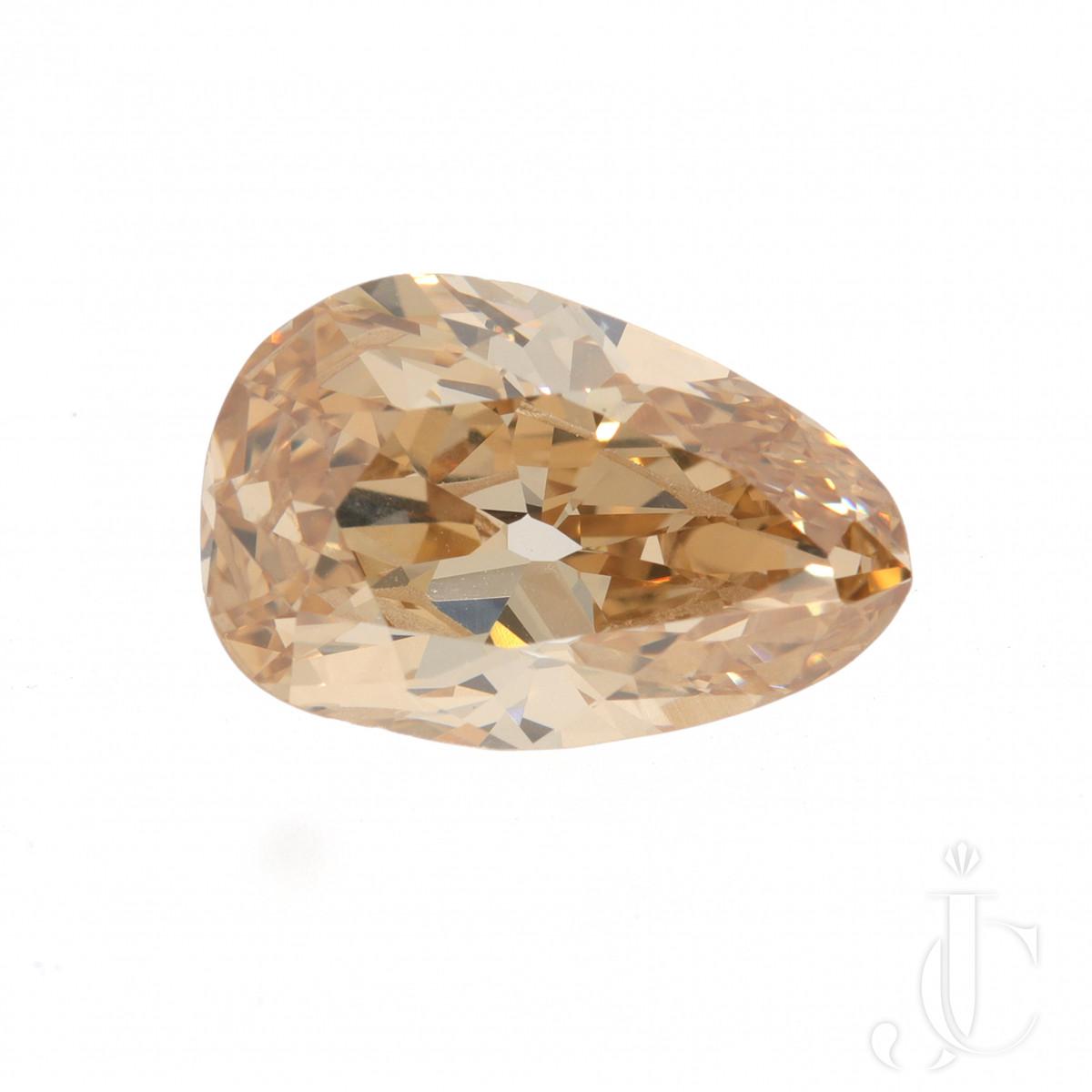 4,11 ct Diamond Pear Shape