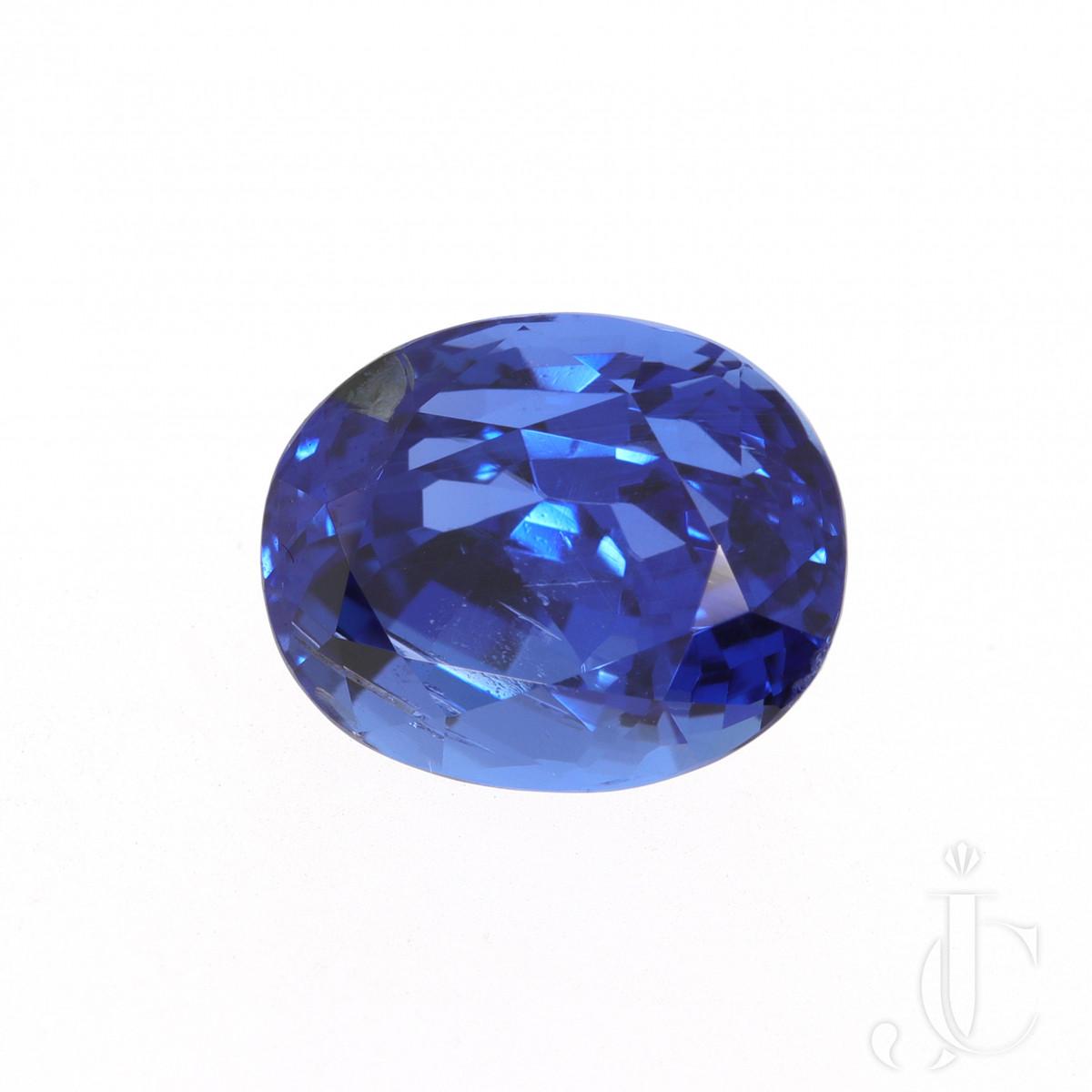 6,47 ct Ceylon Sapphire oval