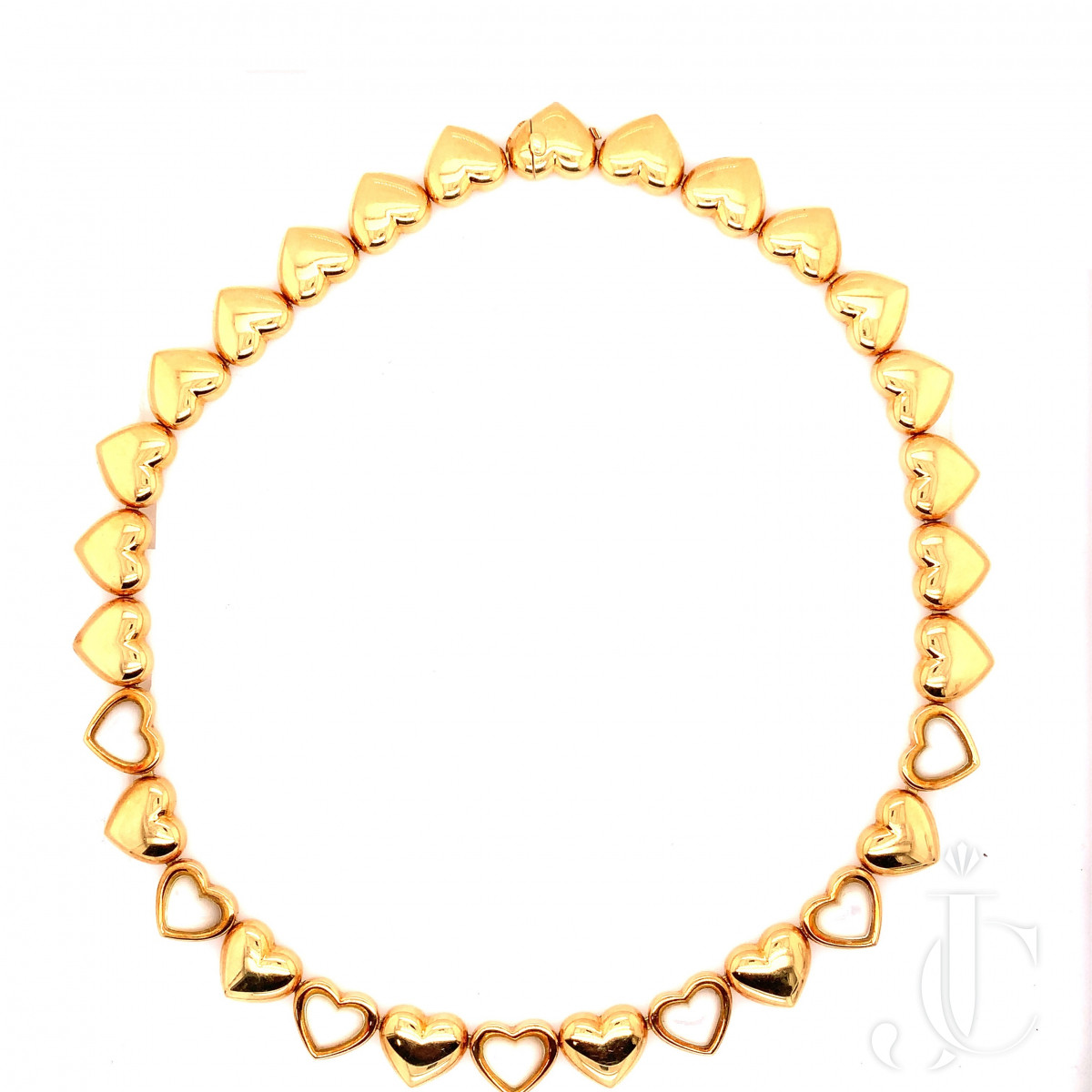 18K Gold necklace with mother of pearl by Mauboussin  Paris