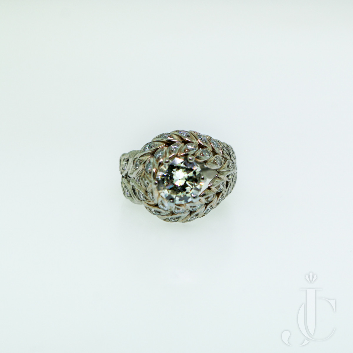Sterlé Diamond Ring