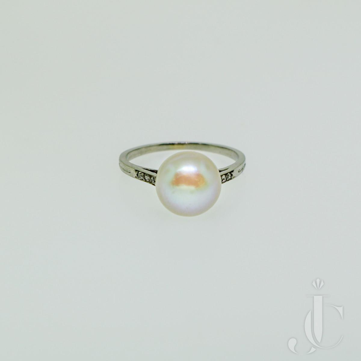 René Boivin Natural Pearl Ring