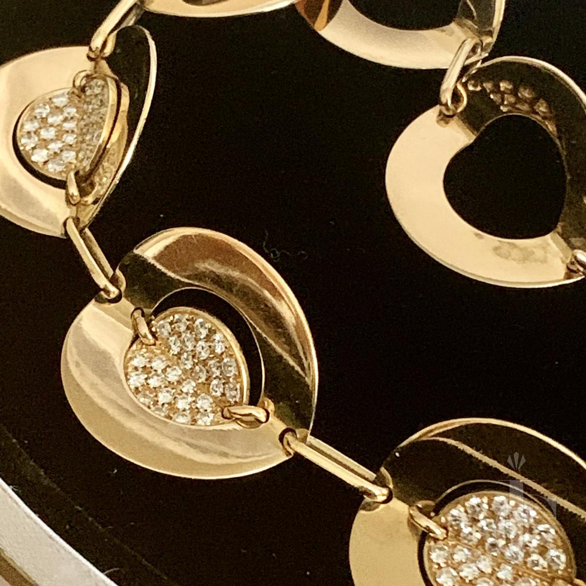 Fasano Diamond and Gold Necklace