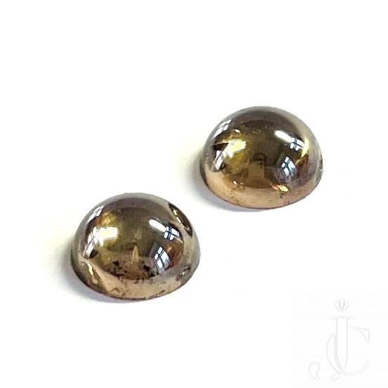 2-2,35 ct orangy brown Diamond Cabochon