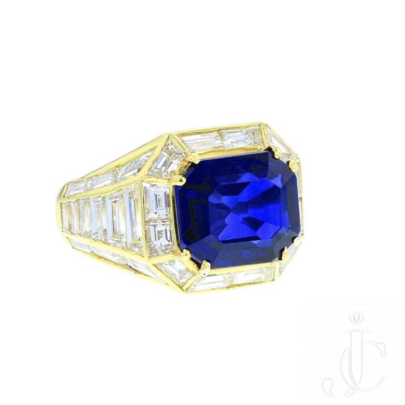 4.99 carats Burma Sapphire No Heat