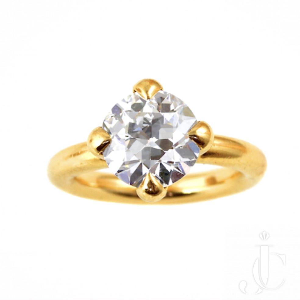 JAR Rare Diamond Solitaire Ring