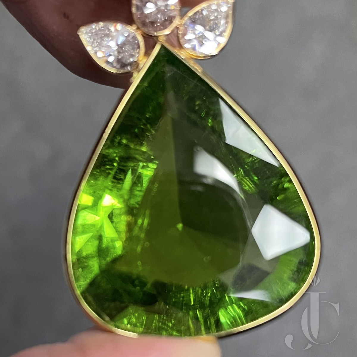 46.46 carats Paraiba Touramline- GIA