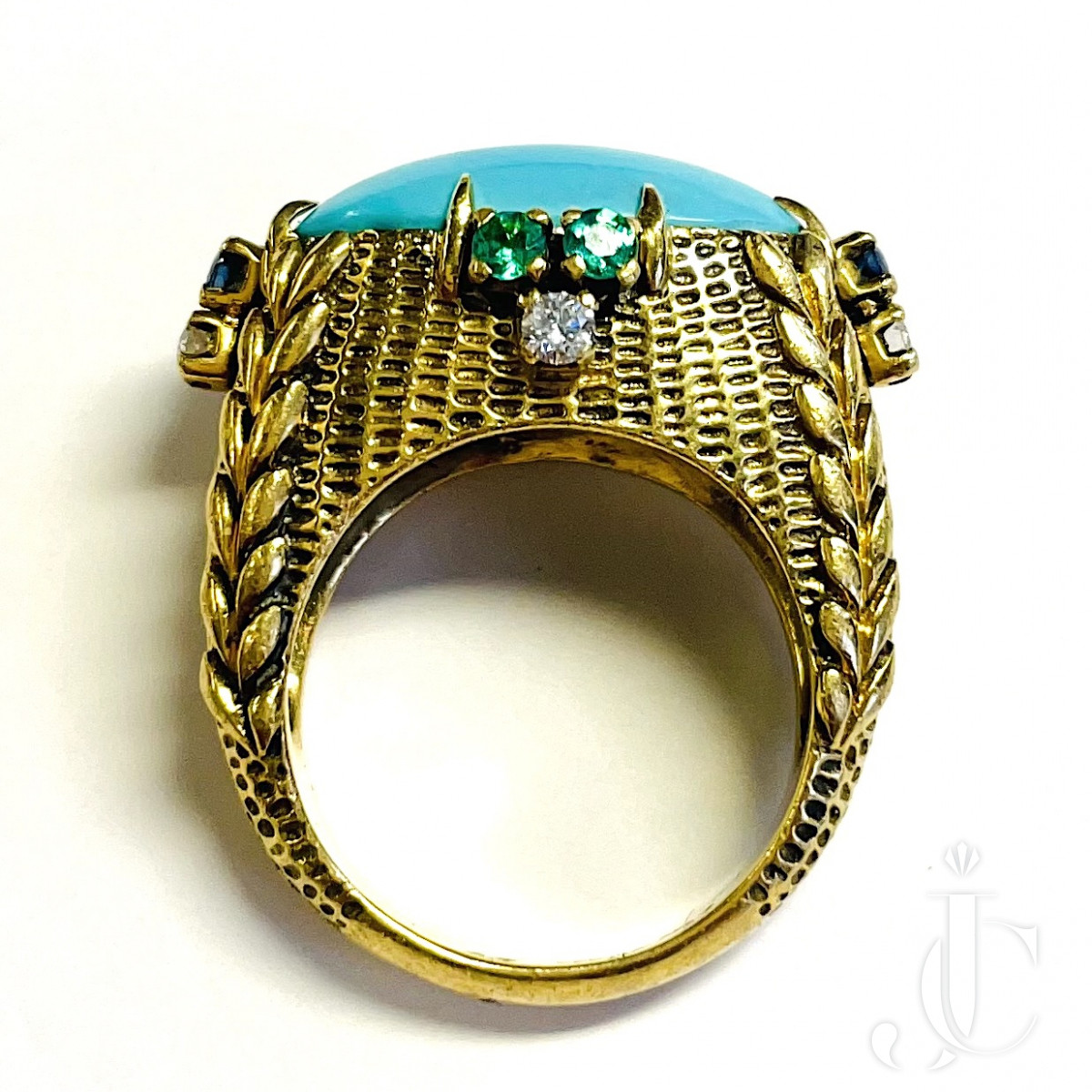 Cartier Turquoise Ring