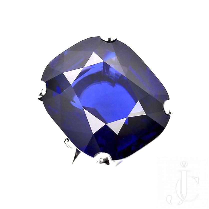 23 carat Burma Sapphire No Heat Ring